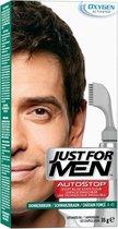 Just For Men Autostop Donkerbruin - Haarkleuring - 35gram