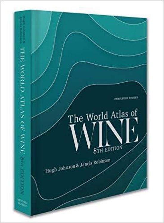 Boek cover World Atlas of Wine 8th Edition van Hugh Johnson (Hardcover)