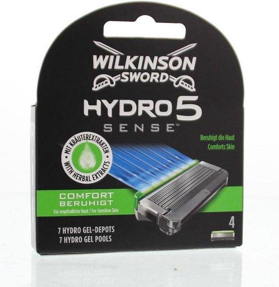 Wilkinson Hydro 5 Sense - 4 scheermesjes