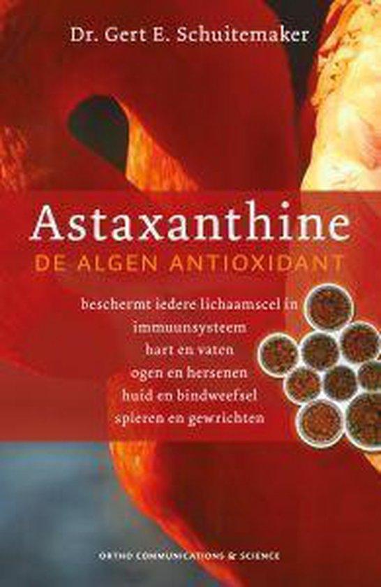 Boek cover Astaxanthine van G.E. Schuitemaker (Paperback)