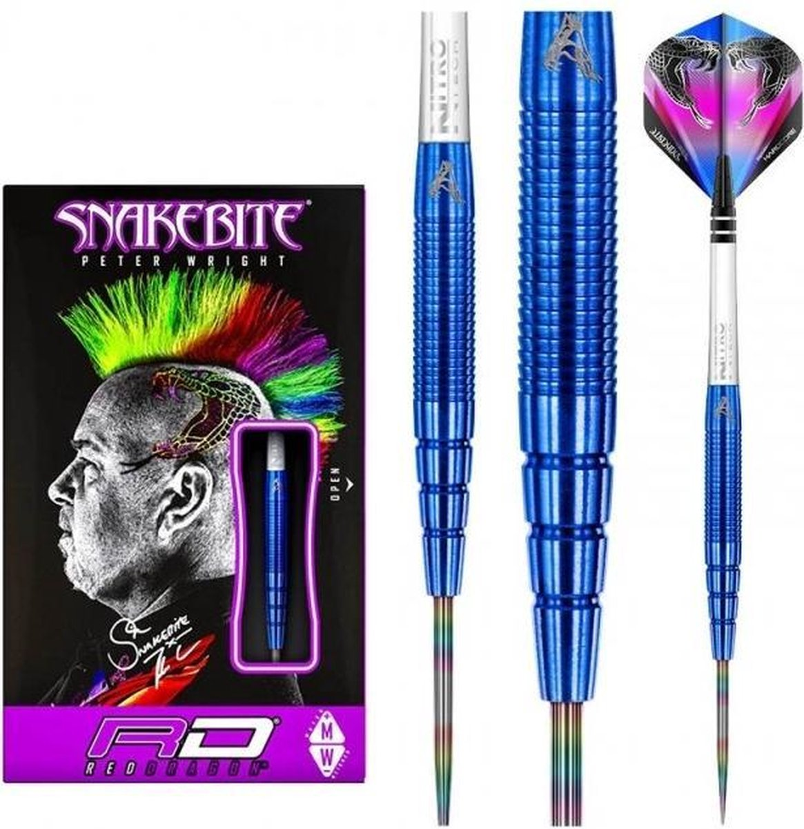 Peter Wright Snakebite PL15 90% Blue - 22 Gram