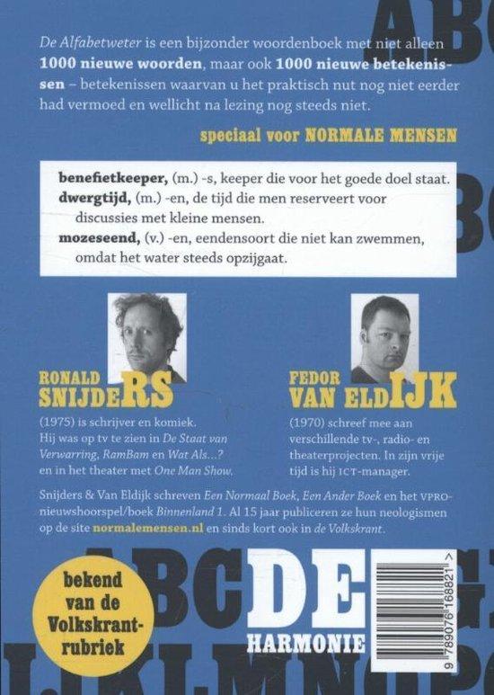 De alfabetweter - Ronald Snijders
