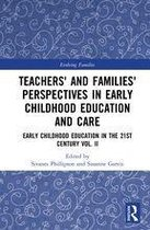 Omslag Teachers' and Families' Perspectives in Early Childhood Education and Care