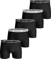 Bjorn Borg Heren 5Pack Short Solid Black-M (5)