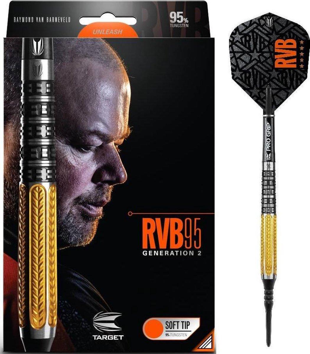 Target Raymond van Barneveld Gen 2 95% Soft Tip - 17 Gram