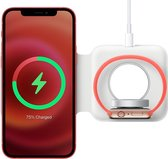 Apple MagSafe Duo Wireless Charger iPhone / Apple Watch - Wit