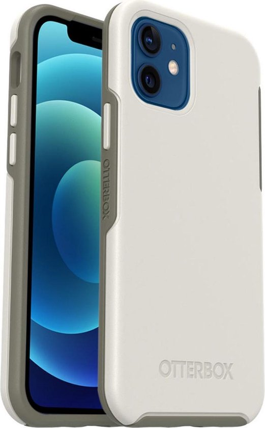 OtterBox Symmetry Plus hoesje met MagSafe voor Apple iPhone 12 / iPhone 12 Pro - Wit