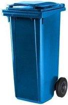 Kliko Kunststof Afval Rolcontainer Mini container - 120 l - Blauw