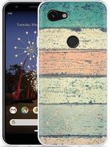 Google Pixel 3a XL Hoesje Steigerhout