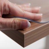 Tafelbeschermer glashelder 2,2 mm (90cm breed) - Beschikbaar in 12 maten
