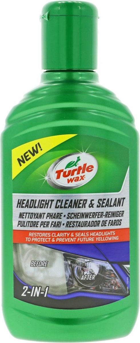 Turtle Wax Headlight Cleaner & Sealant - 300ml