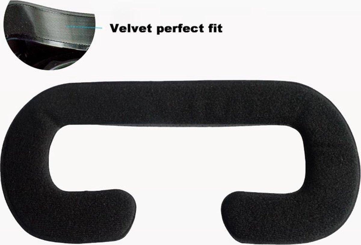 HTC Vive   Zweetbestendig Faux Lederen VR Cover Gezichtskussen