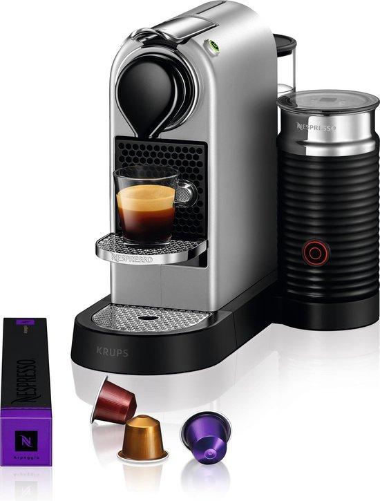 Krups Nespresso Citiz & Milk XN761B10 - Koffiecupmachine - Zilver