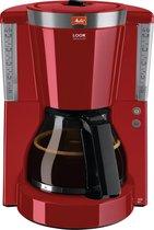 Melitta Look IV - Filter-koffiezetapparaat - rood