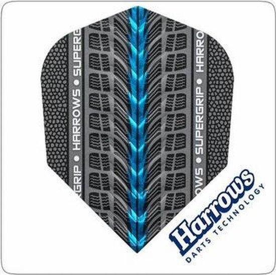 Afbeelding van het spel Harrows flights Supergrip Blue  Set à 3 stuks