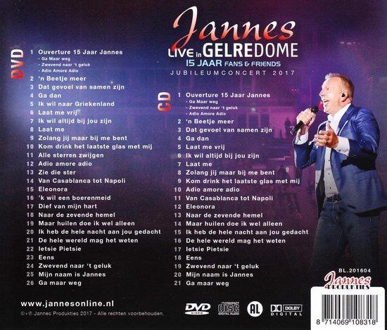Live in Gelredome - 15 Jaar Fans & Friends (DVD+CD)