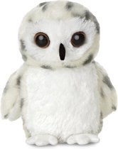Aurora Knuffel Mini Flopsie Sneeuwuil Wit 20,5 Cm