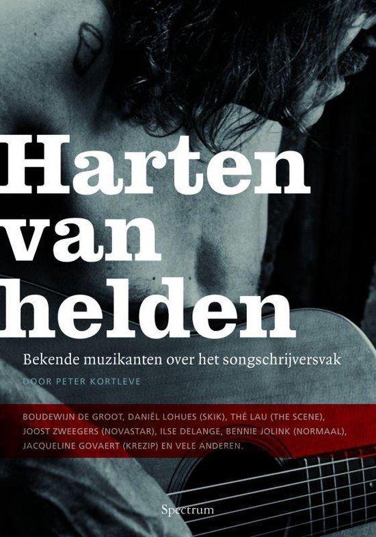 Cover van het boek 'Harten van helden' van P. Kortleve