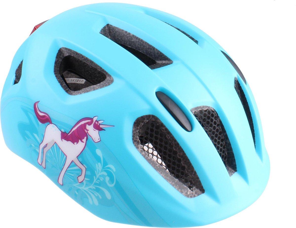 Cycle Tech Kinderhelm Inmold Nova Junior 54-58 Cm Blauw