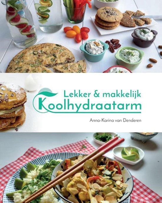 Boekomslag voor Lekker & makkelijk koolhydraatarm