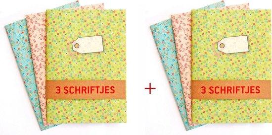 2 Schriften-sets  pastel