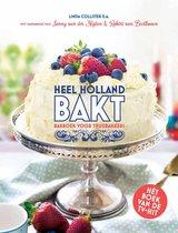 Boek cover Heel Holland bakt van Martine Steenstra (Hardcover)
