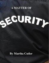 Omslag A Matter of Security
