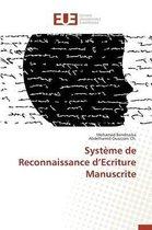 Syst�me de Reconnaissance D Ecriture Manuscrite