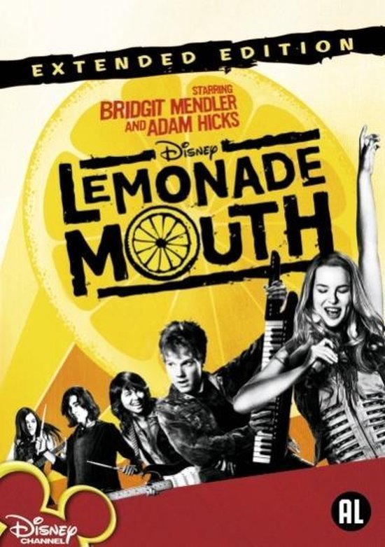 Cover van de film 'Lemonade Mouth'