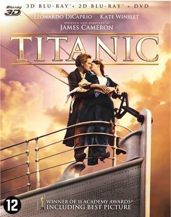 Cover van de film 'Titanic'
