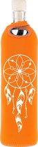 Flaska glazen waterfles Dreamcatcher 0,5l