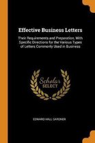 Effective Business Letters