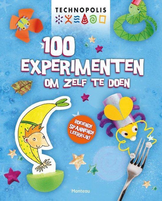 Cover van het boek '100 experimenten om zelf te doen' van Georgina Andrews