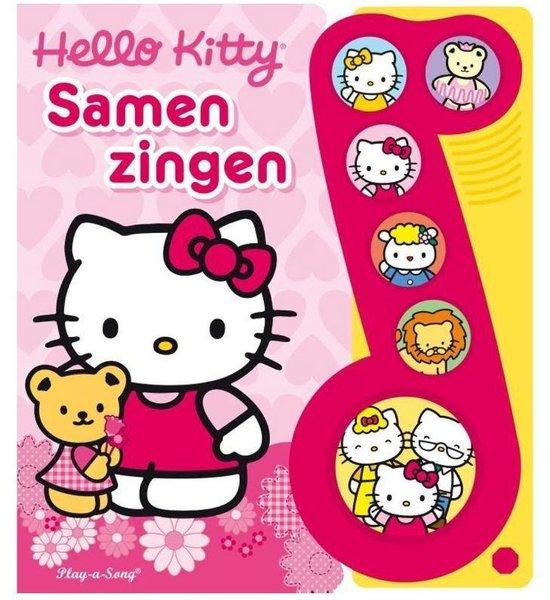 Boek cover Hello Kitty - Samen zingen van  (Hardcover)