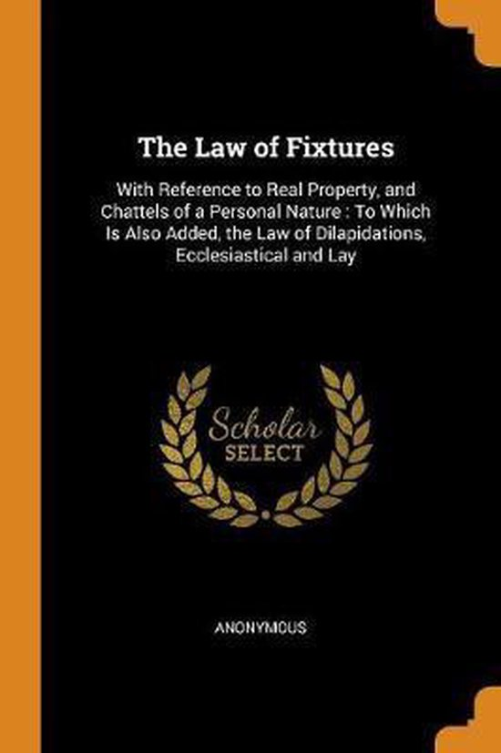 The Law of Fixtures