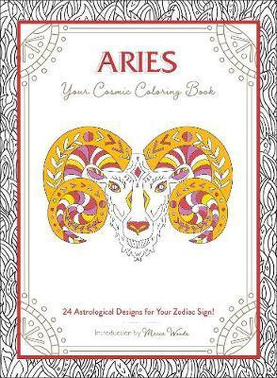Aries: Your Cosmic Coloring Book