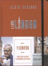 Ducasse, Alain. I love London. 100 heerlijke adressen + 1 uitvouwbare plattegrond