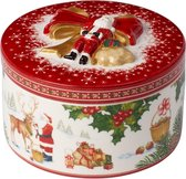 Villeroy & Boch Christmas Toys Geschenkpakje medium rond rendier