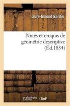 Notes Et Croquis de Geometrie Descriptive