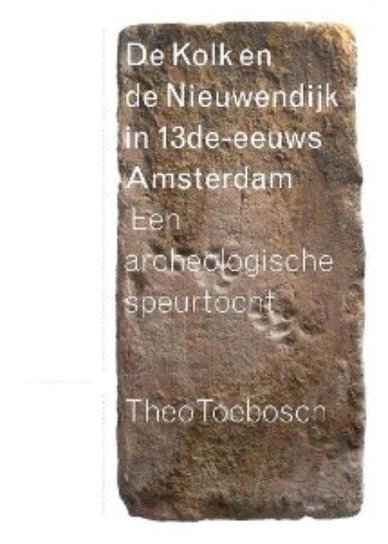 Cover van het boek 'De Kolk en de Nieuwendijk in dertiende-eeuws Amsterdam'