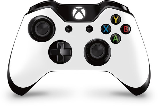 Xbox One Controller Skin Wit Sticker