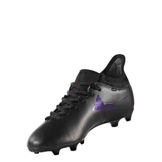 adidas x 17.3 fg voetbalschoenen zwart heren