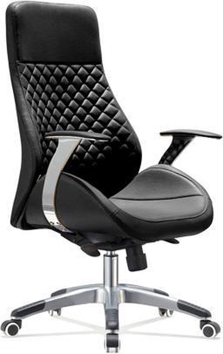 IVOL Bureaustoel Bologna - Zwart - Design bureaustoel