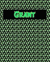 120 Page Handwriting Practice Book with Green Alien Cover Grant