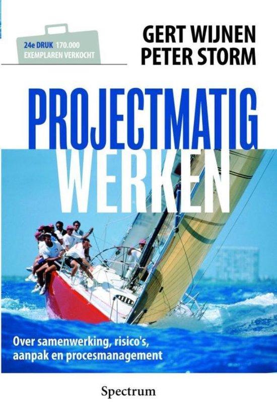 Cover van het boek 'Projectmatig werken'