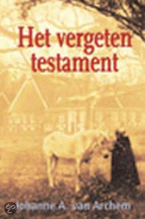 Het Vergeten Testament - Johanne A. van Archem  