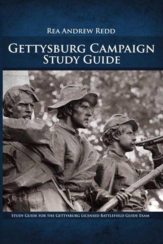 Boek cover Gettysburg Study Guide, Volume 1 van Rea Andrew Redd (Onbekend)