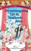 Boek cover De ontsnapping van de brullende muis van Jacques Vriens