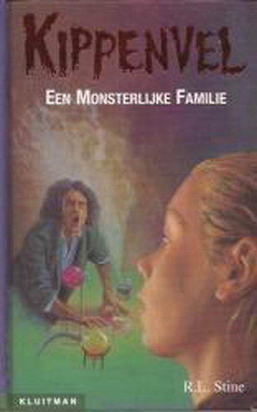 Boek cover Een Monsterlijke Familie van R.L. Stine (Hardcover)
