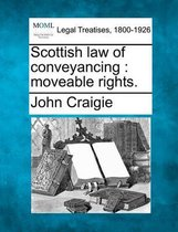 Scottish Law of Conveyancing